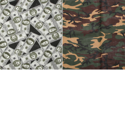 Cotton print bandanas